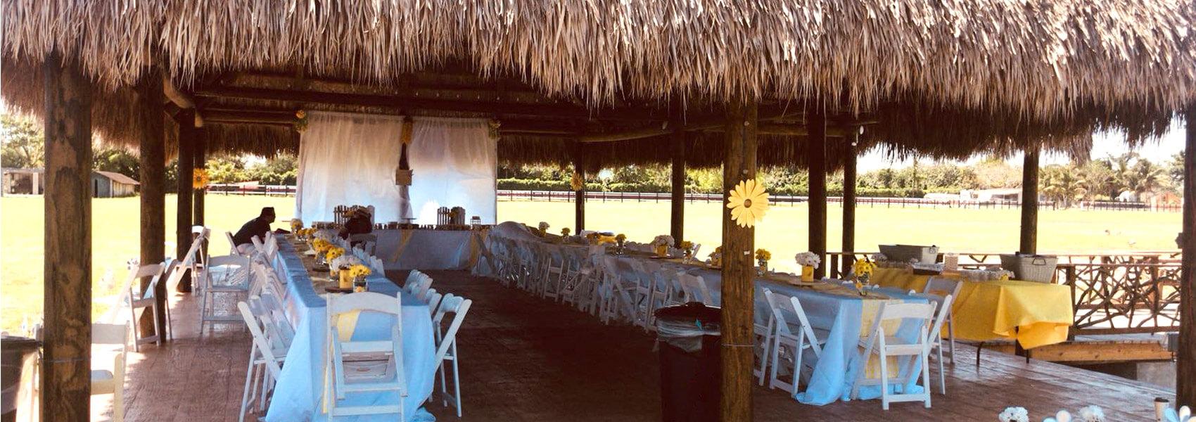 Outdoor Baby Shower Venue In Miami Coco Paradise